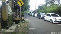 Libur Nataru, Kawasan Lembang Bandung Dipadati Wisatawan