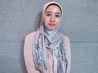 Tutorial Hijab Ibu Hajat Leiner Fashion