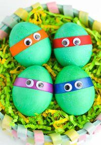 Kreasi Telur Paskah : kreasi, telur, paskah, Menghias, Telur, Paskah, Lucu-lucu