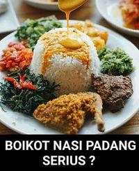 Nasi Padang Png : padang, Boikot, Padang, Viral, Media, Sosial