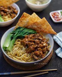 Resep Ayam Kecap Mie Ayam : resep, kecap, Membuat, Resepnya,, Makanan, Tengah, Bulan, Favorit