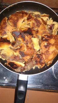 Pie Susu Teflon Anti Gosong : teflon, gosong, Hancur, Hingga, Gosong,, Begini, Potret, Gagal, Teflon, Bikinan, Netizen
