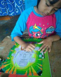 Gambar Corona Anak Tk : gambar, corona, Jenuh, Rumah,, Lomba, Mewarnai