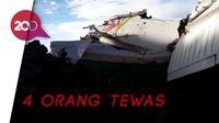 Ditemukan! Puing-puing Pesawat Twin Otter yang Jatuh di Mimika Papua