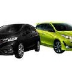 Toyota Yaris Trd Vs Honda Jazz Rs Meja Lipat All New Kijang Innova Komparasi Dan