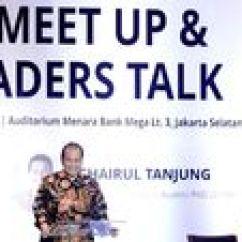 Chairul Tanjung Alex Chair Arhaus Milenial Akan Kuasai Pasar Dunia