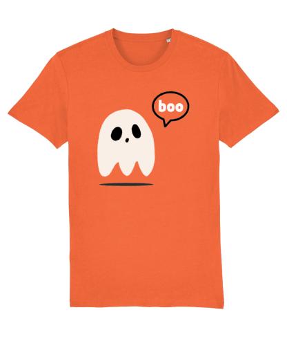 Adult Halloween Ghost T-shirt