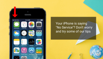 iphone is saying no service