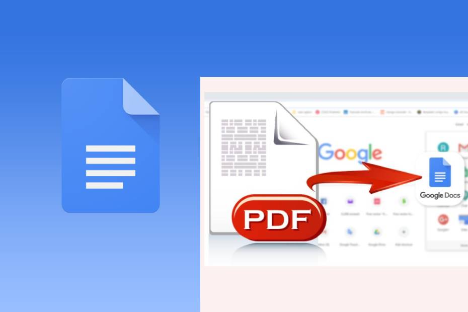 pdf to google docs