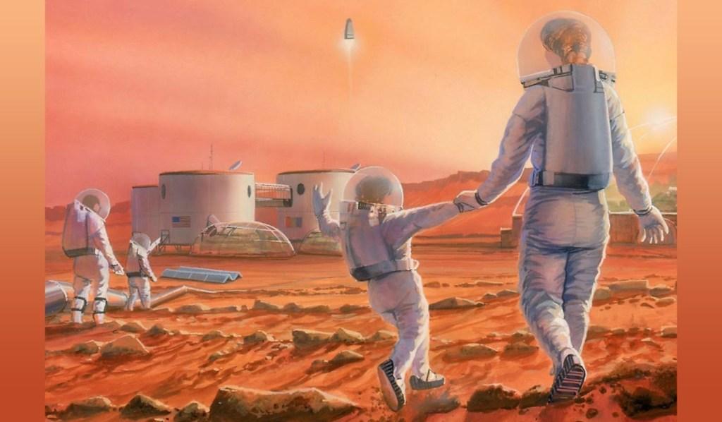 new life on mars
