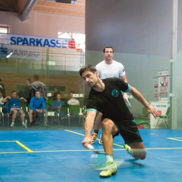 Squash Coaching Blog: Responding To The Power Drive (from the front of the court)