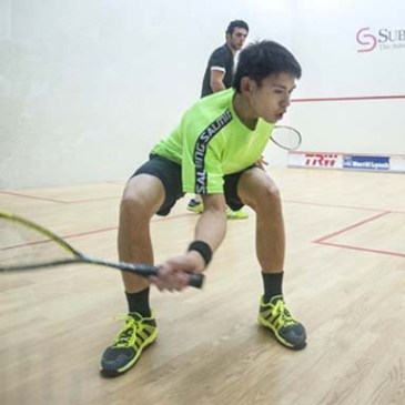Squash Coaching Blog: Racket back!