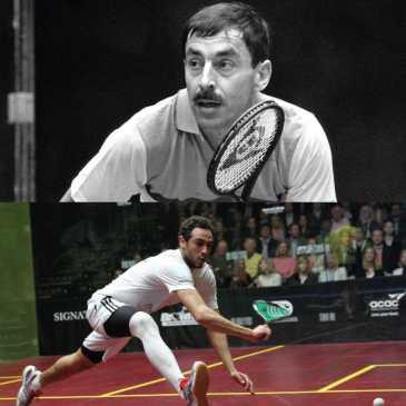 Jahangir or Shabana? McEnroe or Federer? The Generation Game.