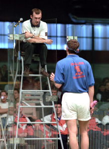 AWsome Sports - Adapting to different conditions blog - A Squash Referee