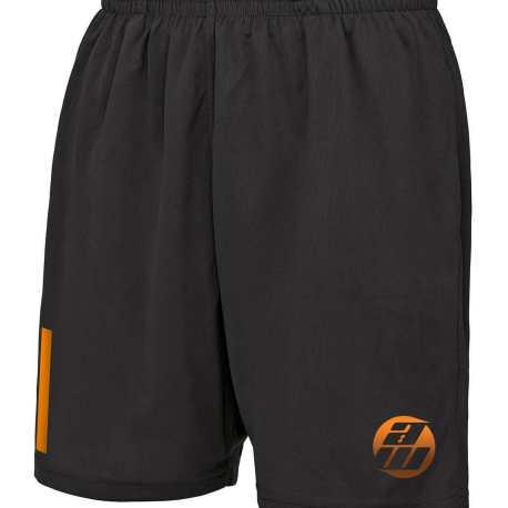 Grey and Orange Shorts
