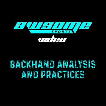 Video Squash Coaching Vlog: Backhand backswing analysis and practices.