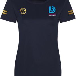 Grove Squash Navy Front LADIES T-Shirt