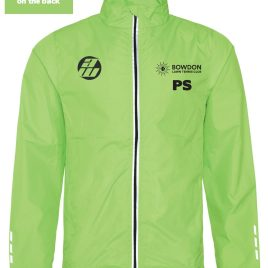 Bowdon Tennis Coach Waterproof Lime and Black 3-1