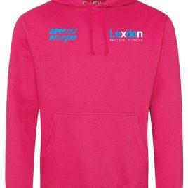 Lexden Hoodie Pink Front-1