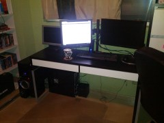 My new Dual Monitor mount