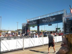 P.F. Chang's Rock and Roll Marathon finish line