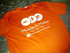 Miracles in Motion T-shirt
