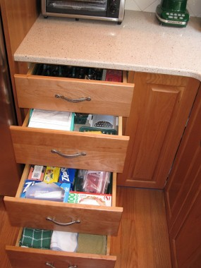 kitchen base cabinet pull outs trends in flooring family fun - our home