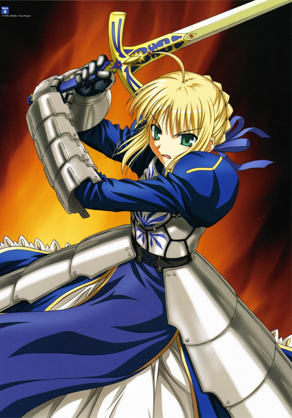 Saber Triumphant Excalibur