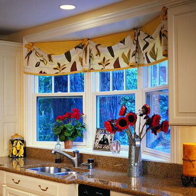 kitchen bay windows moen motionsense faucet bow andersen e series window