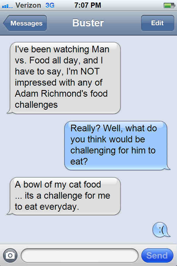 Texts From My Cats