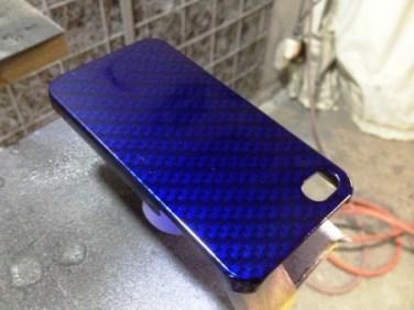 iPhoneケース塗装