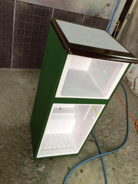 冷蔵庫黒板化1