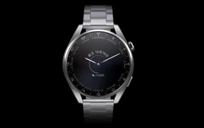 طراحی ساعت هواوی