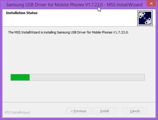 Samsung USB Driver for Mobile Phones V MSS InstallWizard