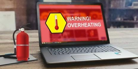 گرم شدن بیش از حد لپ تاپ