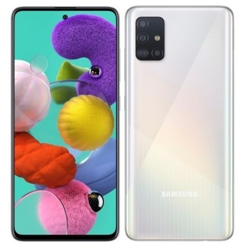 Galaxy A51 - 6.5'' FHD+ - (6GB - 128GB) - Android10.0 - 4G - Camera 48MP-Blanc