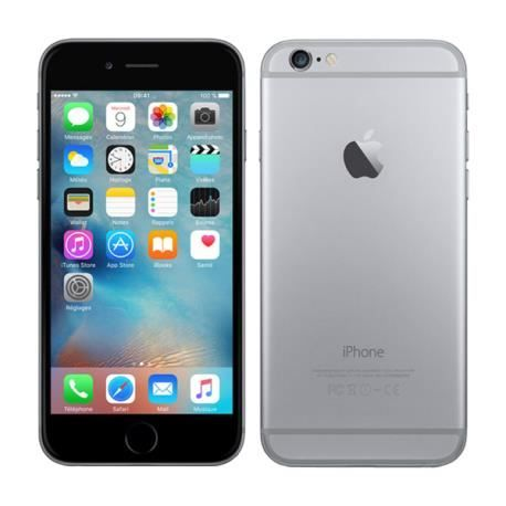 iPhone 6s 64 Go Gris Sideral Reconditionné - Comme Neuf