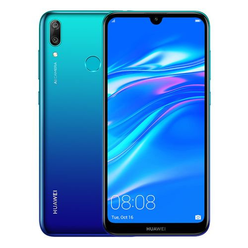 Y7 Prime (2019) - 6.26-inch 32GB/3GB Mobile Phone - Aurora Blue