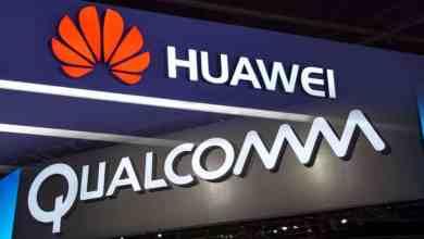 Huawei qualcomm logo