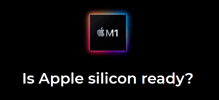 Website Is Apple Silicon ready