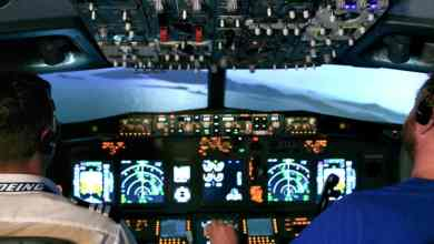flight simulator experience aboard