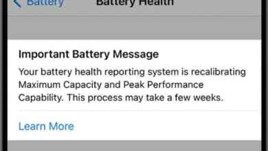 Screenshot Apple introduces battery recalibration tool for iPhone with iOS beta toMac