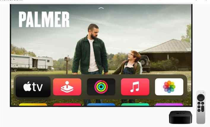 Screenshot Apple unveils the next generation of Apple TV K