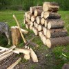 fire wood pile