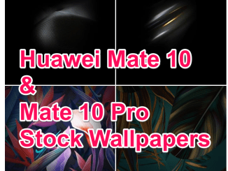 Huawei Mate 10 Pro Stock Wallpapers