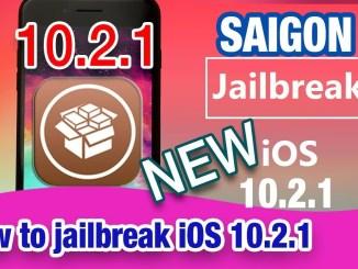 Saigon Jailbreak iPA for iOS 10.2.1