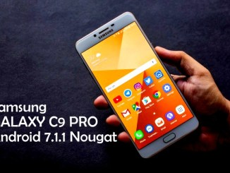 Samsung Galaxy C9 Pro Android 7.1.1 Nougat