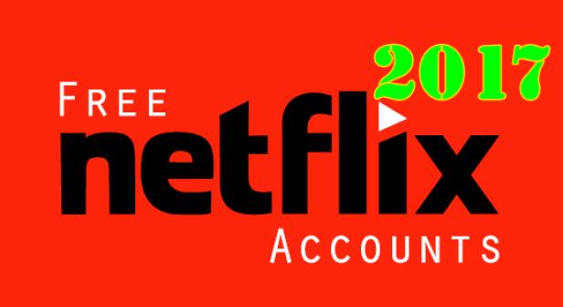 Netflix free premium account generator November 2017