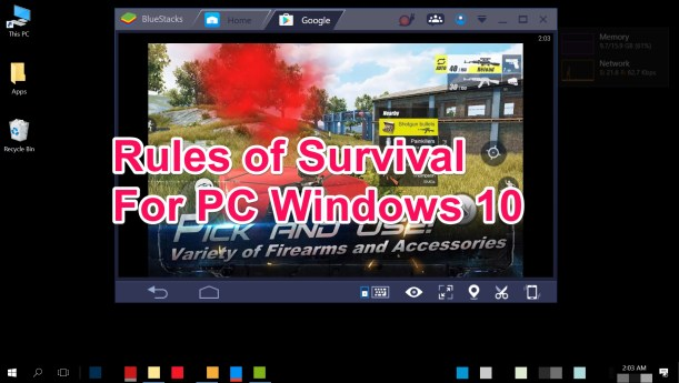 Rules of Survival for PC Windows 10 and Mac