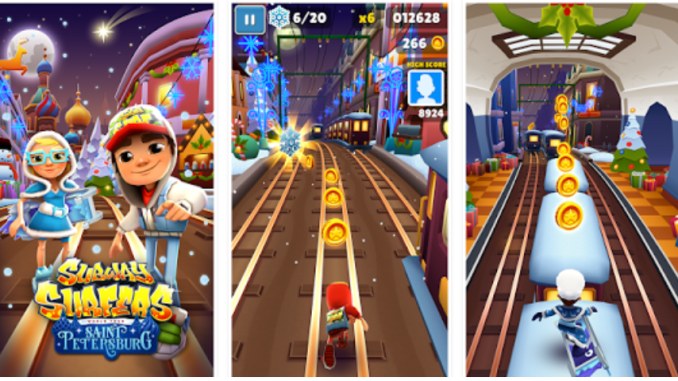 Subway Surfers Saint Petersburg mod apk hack